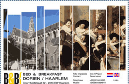 Bed and Breakfast Dorien Haarlem